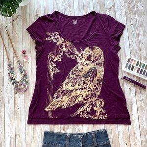 ANA gold old graphic short sleeve tee